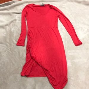 Dresses & Skirts - Ladies long sleeve red dress